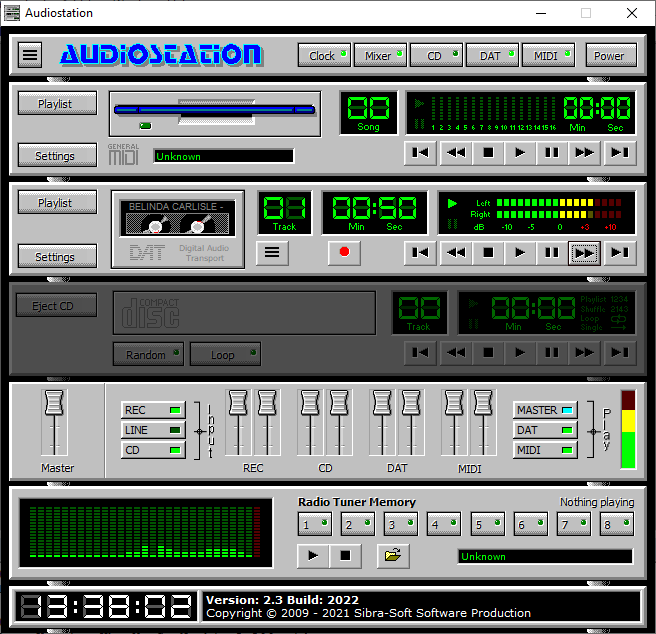 audiostation mp3 player